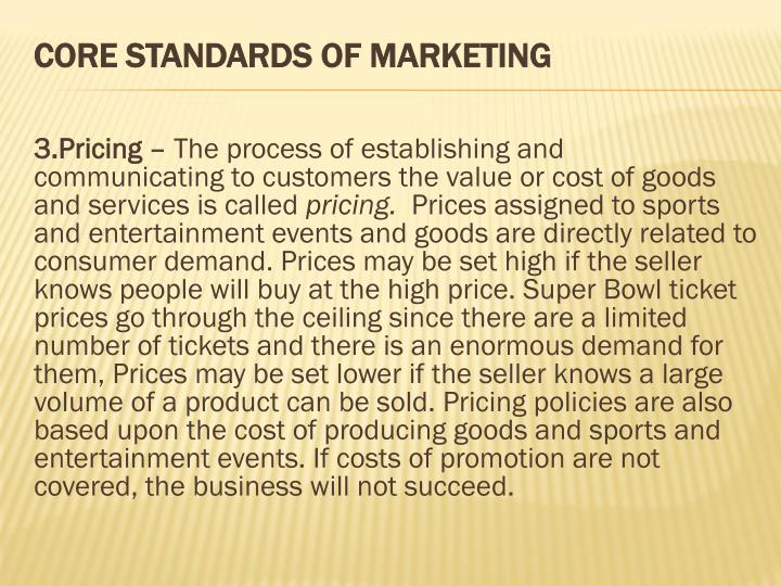 3.Pricing