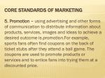 core standards of marketing4