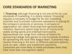 core standards of marketing6