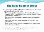 the baby boomer effect1
