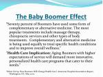 the baby boomer effect3