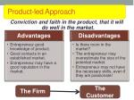 product led approach