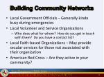 building community networks
