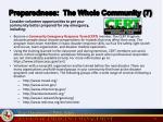 preparedness the whole community 7