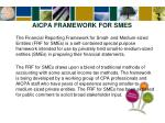 aicpa framework for smes1
