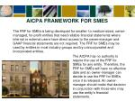 aicpa framework for smes3