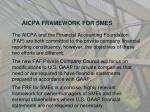aicpa framework for smes5