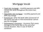 mortgage vocab