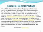 essential benefit package