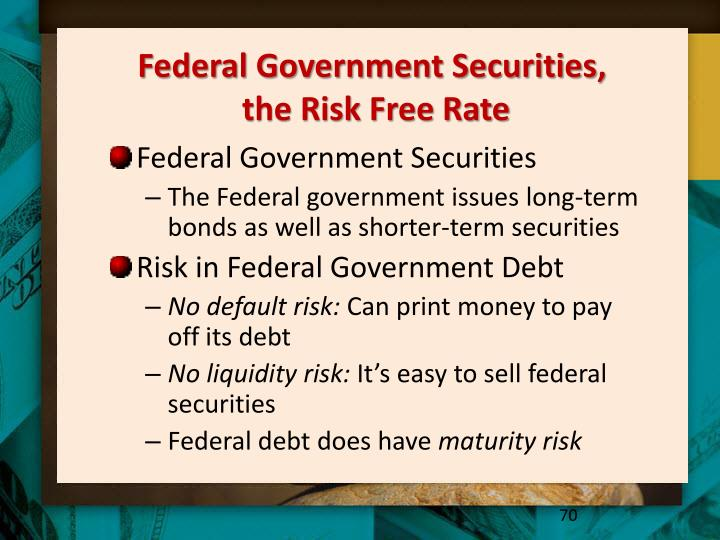 Federal Government Securities