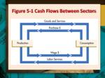 figure 5 1 cash flows between sectors