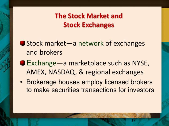 The Stock Market and