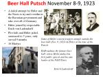 beer hall putsch november 8 9 1923