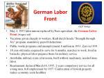 german labor front