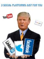 3 social platforms just for you