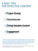 4 easy tips for effective content