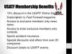 usatf membership benefits