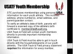 usatf youth membership