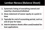lembar neraca balance sheet