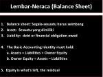 lembar neraca balance sheet1