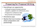 preparing for proposal writing1