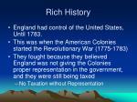 rich history2