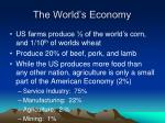 the world s economy