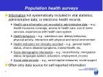 population health surveys1