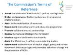 the commission s terms of reference