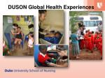 duson global health experiences