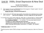 unit iii 1920s great depression new deal