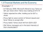 1 3 financial markets and the economy4
