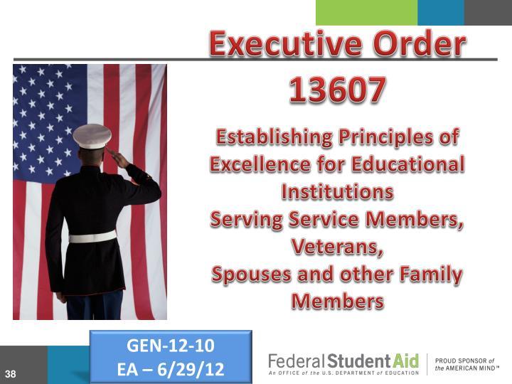 Executive Order 13607