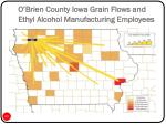 o brien county iowa grain flows and ethyl alcohol manufacturing employees