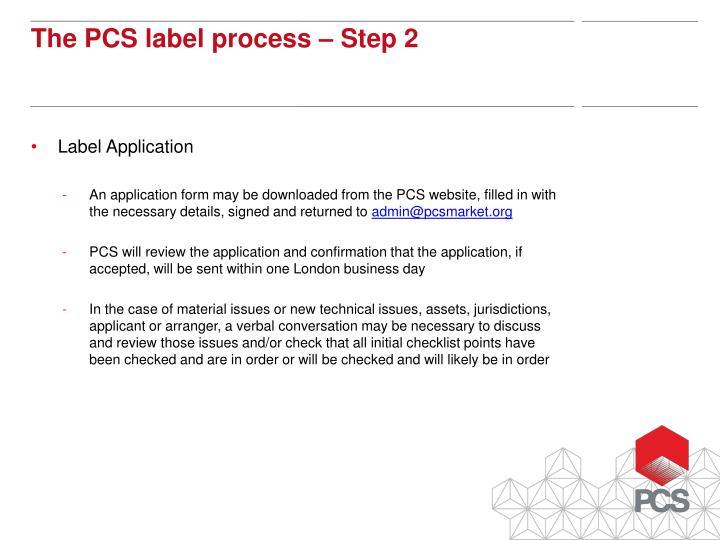 Label Application