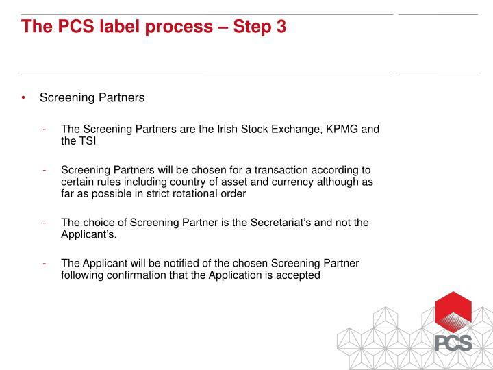 Screening Partners