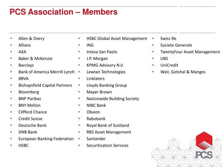 PCS Association