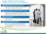 dragon medical practice edition yields cost savings and productivity
