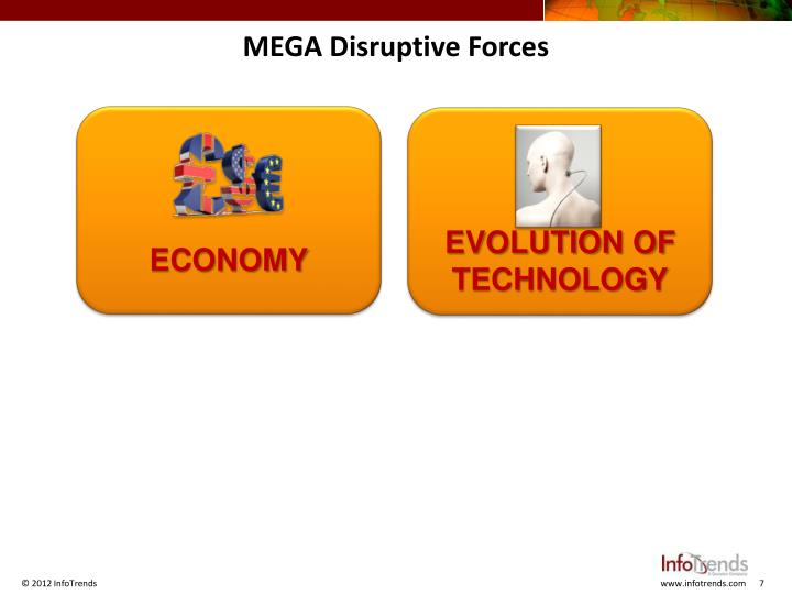 MEGA Disruptive Forces