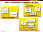 mobile cloud document management solutions