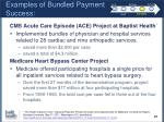 examples of bundled payment success