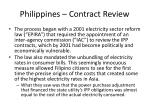 philippines contract review