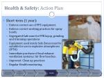 health safety action plan