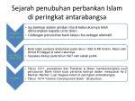 sejarah penubuhan perbankan islam di peringkat antarabangsa