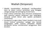 wadiah simpanan
