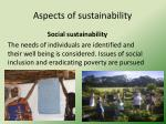 aspects of sustainability1