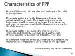 characteristics of ppp1