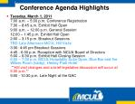 conference agenda highlights1