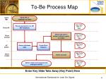 to be process map