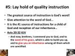 5 lay hold of quality instruction1